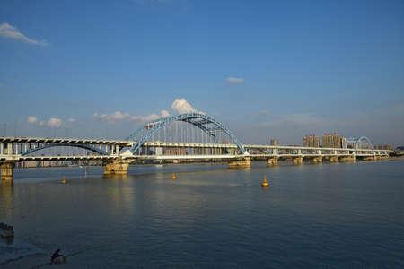 panorama view: Fuxing ponte vista panoramica