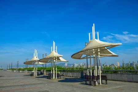 awnings: Qiantang River, Hangzhou construction