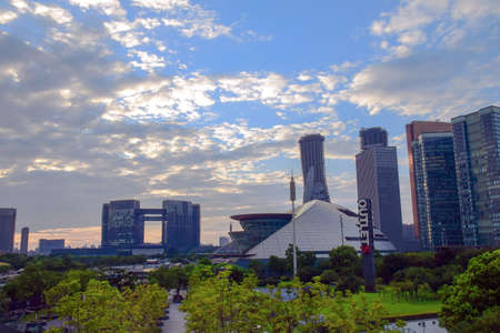 civic center: Qianjiang new Civic Center in Hangzhou Grand Theater