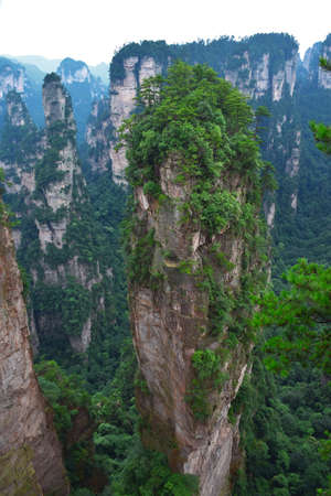 hallelujah: Zhangjiajie Hallelujah mountain Stock Photo