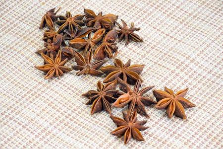 anise star: Star anise Stock Photo