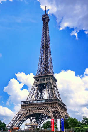historical sites: Eiffel Tower