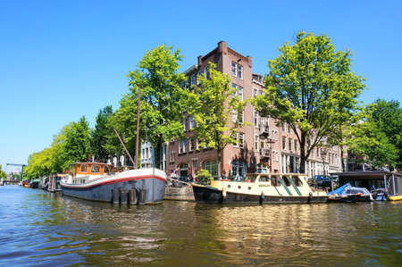 amsterdam canal: Amsterdam Canal Editorial