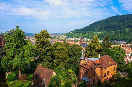 historical sites: Overlooking Germany Heidelberg city views