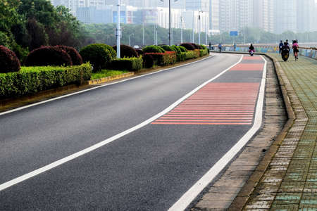 asphalt road: asphalt road Editorial