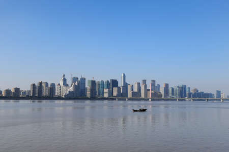 complex: Scenery of the Qiantang River complex