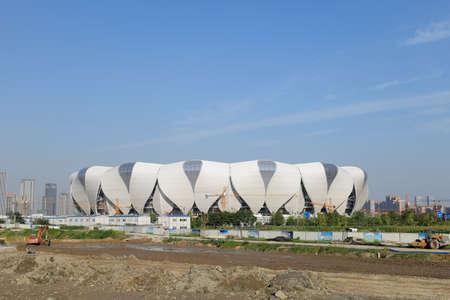 overall: Hangzhou Olympic Sports Center overall