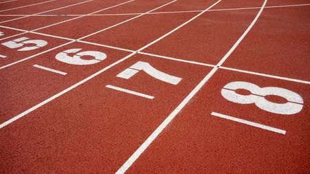 starting line: The starting line