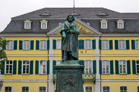 beethoven: University of Bonn Beethoven statue Editorial