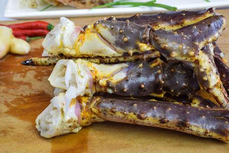 the crab: Rey patas de cangrejo Foto de archivo