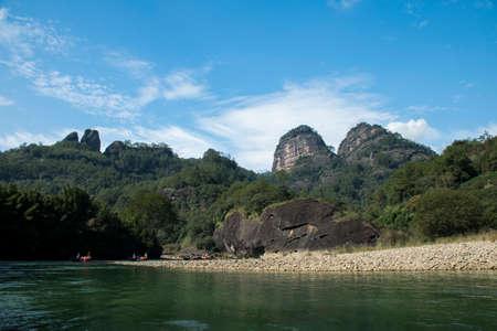 teats: Wuyi Mountain scenic area the teats