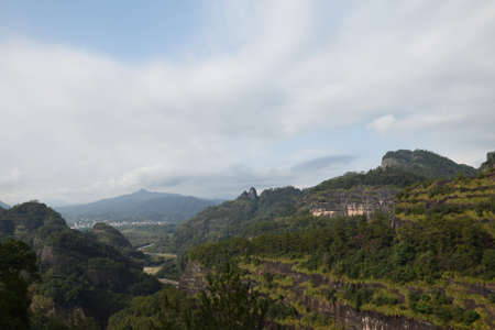 cloud drift: Vegetation in Wuyi Mountain