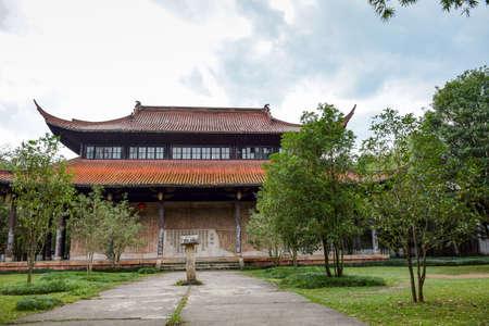 liu: Wuyi Mountain scenic Wuyi Palace Editorial