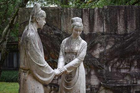 yong: Liu Yong in Wuyi Mountain Memorial Statue
