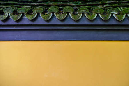 architectural wall: Close up to an ancient architectural wall