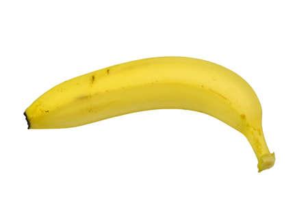 reading materials: Banana close-up Stock Photo