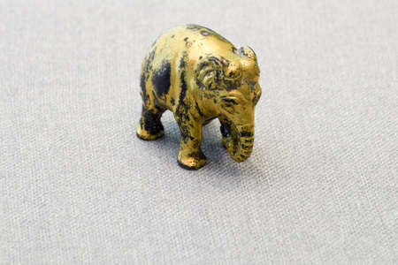 and gold: Gold elephant Editorial