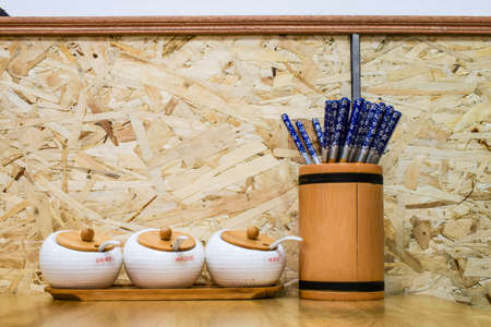 chopsticks: Spice jars chopsticks