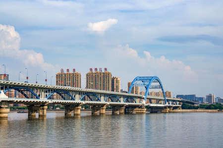 xing: Hangzhou bridge Editorial