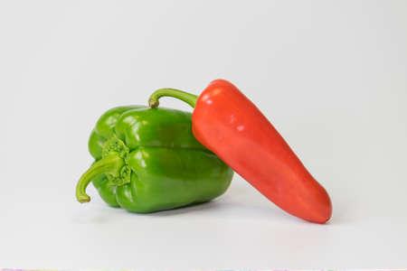 capsicum plant: chili Stock Photo