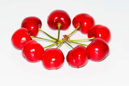 gules: cherry on white background