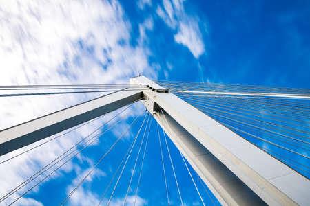 cable bridge: Cable bridge