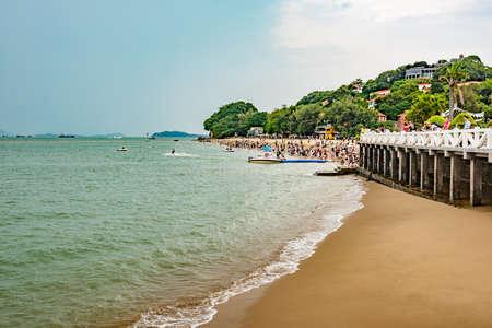islet: Gulangyu Islet Beach