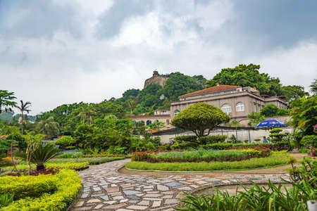 islet: Gulangyu Islet Yellow House garden