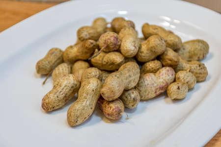 fruitage: peanut Stock Photo