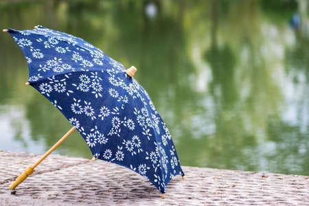 floret: Floret umbrella Stock Photo