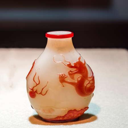 tabaco: Dragón de Jade botella figura tabaco
