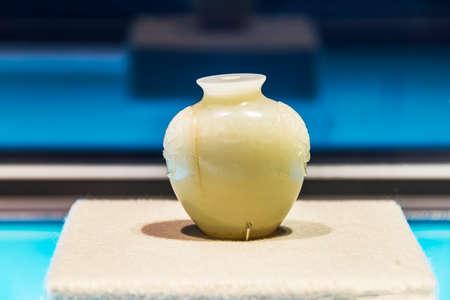 rape: botella de tabaco de jade