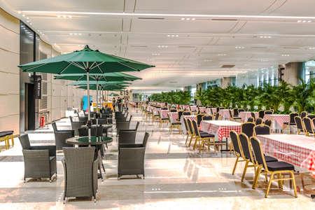 venue: G20 main venue visitor dining area