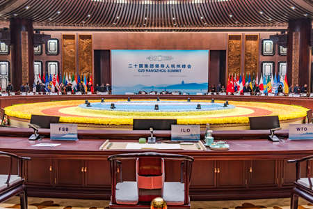 g20: G20 main hall conference hall Editorial