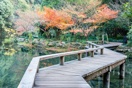 The Hangzhou scenic area in autumn