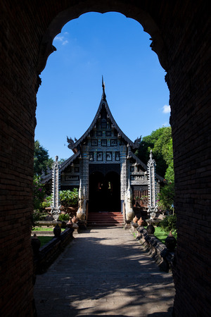 buddhist temple: Buddhist temple in Chiang Mai