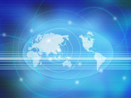 aureola: world map