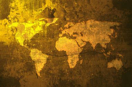 aged world map Stock Photo - 900531