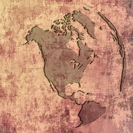 aged America map-vintage artwork Stock Photo - 1290631