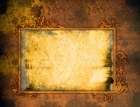 grime: Abstract Background frame Stock Photo