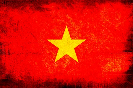 flag of vietnam photo