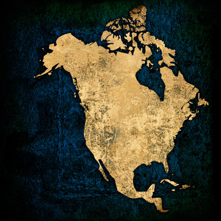aged America map-vintage artwork Stock Photo - 1574365