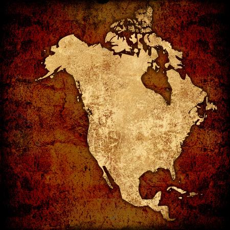 aged America map-vintage artwork Stock Photo - 1574353