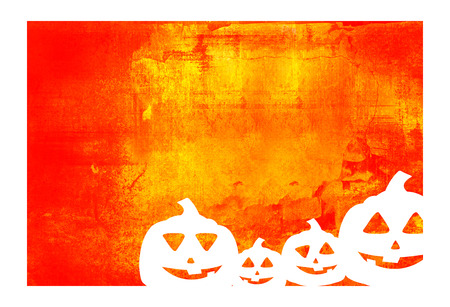 Halloween abstract Background frame Stock Photo - 1600223