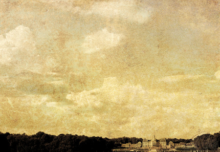 old-fashioned landscape Stock Photo - 1658683