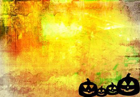 Halloween abstract Background frame Stock Photo - 1696441