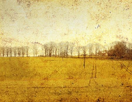old-fashioned landscape Stock Photo - 1716342