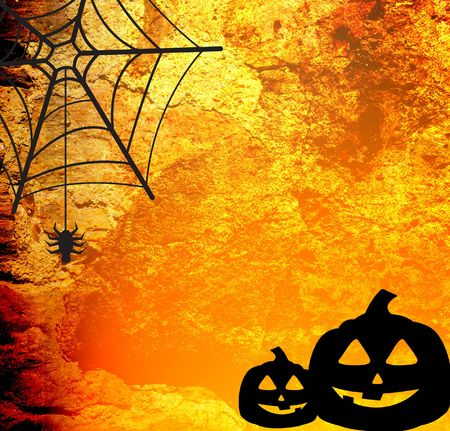Halloween abstract Background frame photo