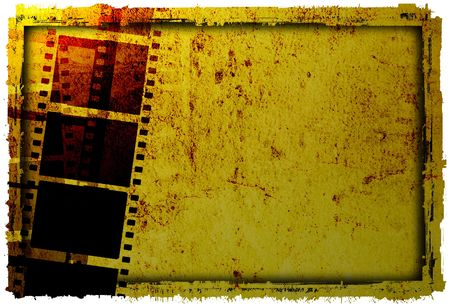 grunge film frame backgrounds Stock Photo - 2063679