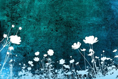 floral style textures photo